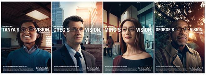 « Notre mission : la vision de tous », Essilor dévoile sa nouvelle campagne institutionnelle