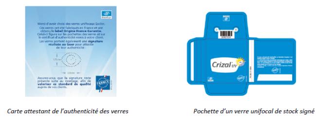 Essilor mise tout sur l'Origine France Garantie et la traçabilité renforcée