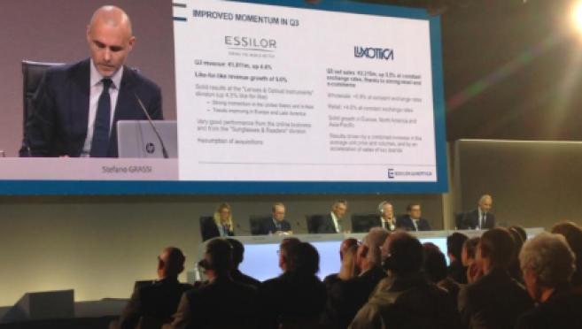 EssilorLuxottica : un nouveau projet en ligne de mire