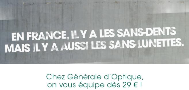 Les « sans-dents » de François Hollande récupérés par Générale d'Optique