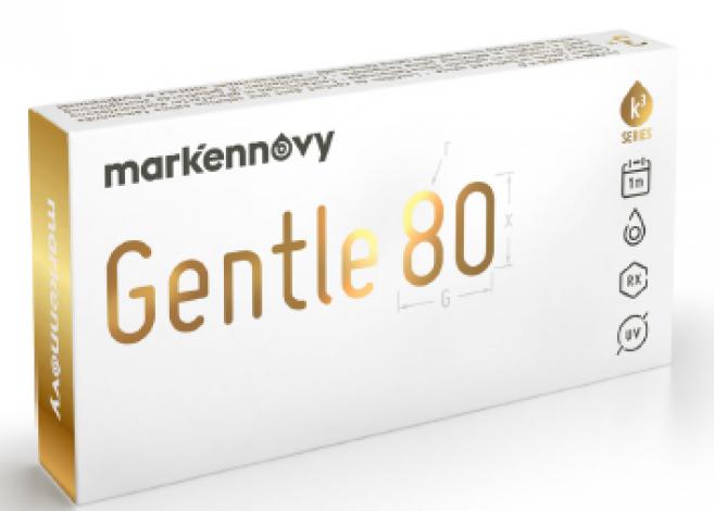 Gentle 80 : récompense en vue pour la lentille souple mensuelle ?