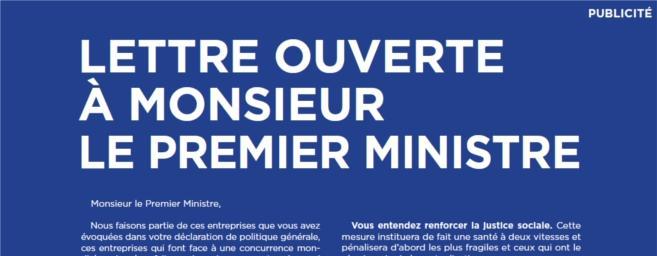 Les industriels français poursuivent leurs actions de sensibilisation auprès du Gouvernement