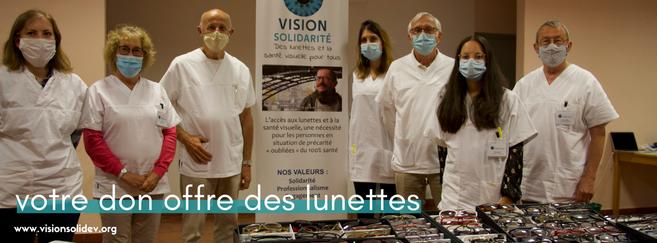 « Giving Tuesday » ce 1er décembre : un appel aux dons pour offrir des lunettes aux plus précaires