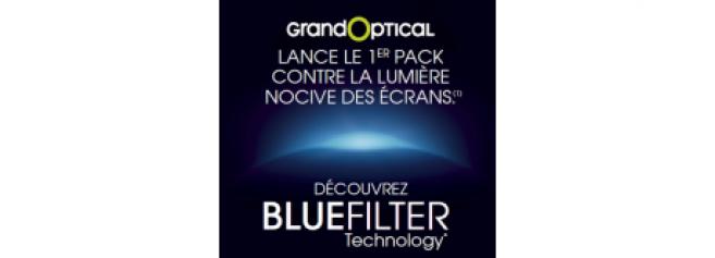 GrandOptical : un nouveau traitement contre la lumière bleue et une offre promotionnelle
