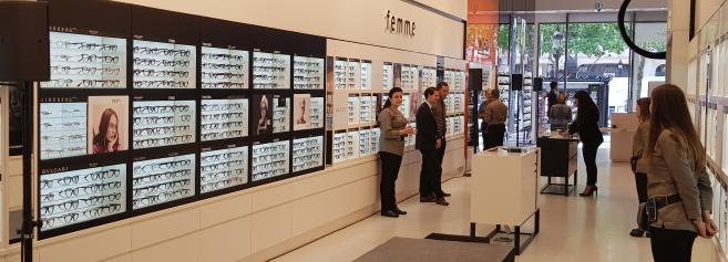 « Santé visuelle et plaisir du shopping » au cœur du nouveau concept GrandOptical