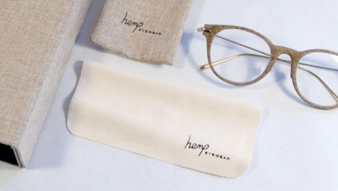 Des lunettes en chanvre : le pari écoresponsable de Hemp Eyewear