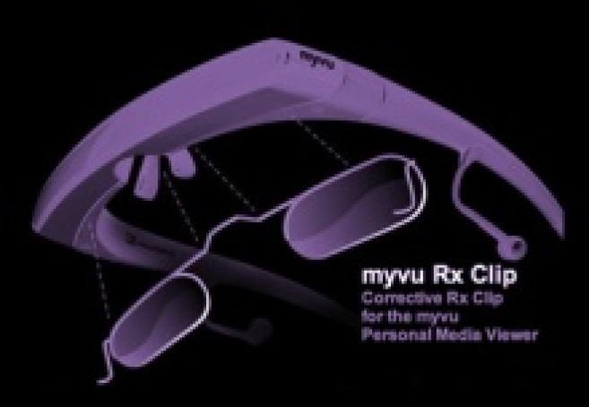 Des lunettes vidéo intégrant des verres correcteurs pour les amétropes