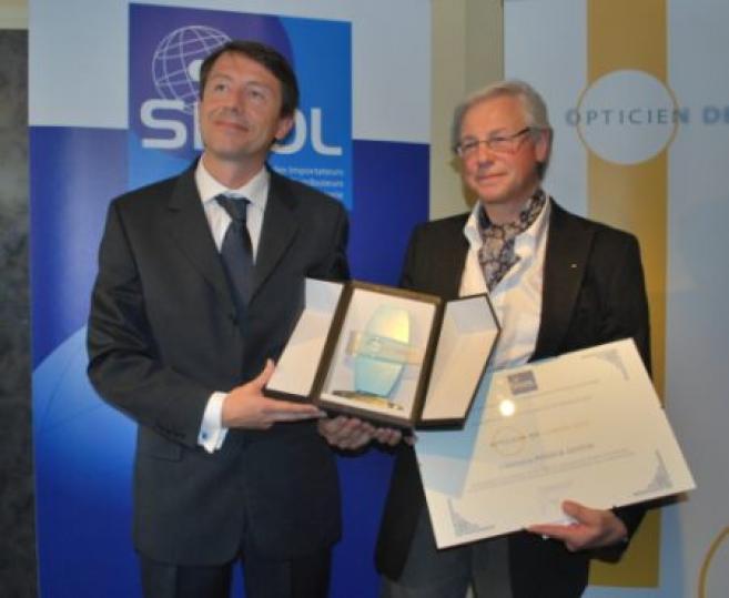 Patrick Gustin, franchisé Afflelou dans le Nord, élu Opticien de l'année 2010
