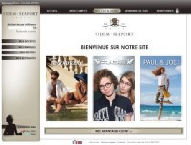 ODLM Seaport lance son site web pour ses clients opticiens : prise de commandes, des SAV...