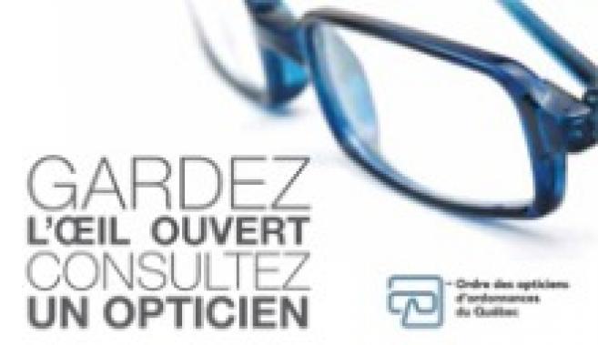Les opticiens québécois lancent une campagne grand public contre la vente sur Internet