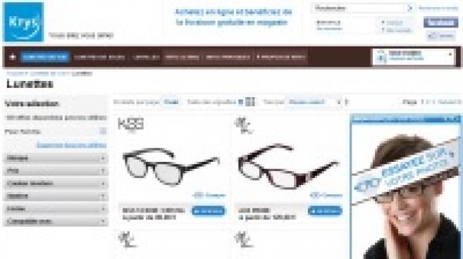Vente sur Internet : Krys répond aux « e-opticiens pure-players »