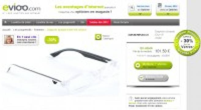 Internet : Evioo.com fait évoluer son modèle en proposant des verres « 30% moins cher »