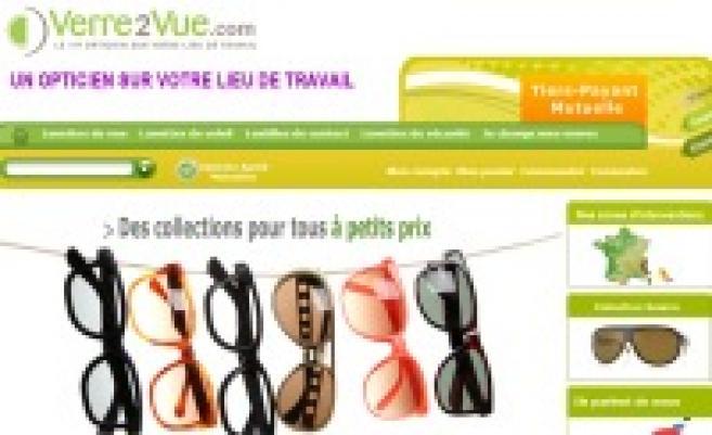 Verre2vue.com propose les services d'un opticien sur le lieu de travail de ses clients