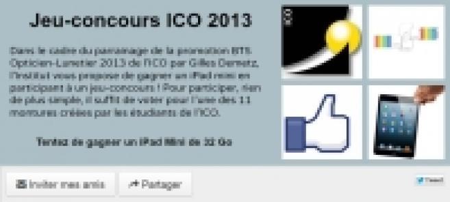 L'ICO lance son second concours de montures en partenariat avec Gilles Demetz