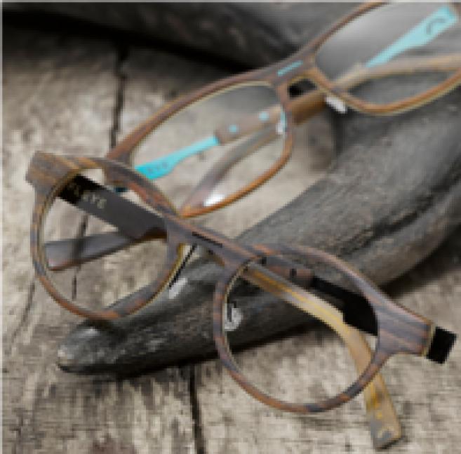 fleye repense la lunette en corne et m lange les mat riaux naturels acuit. Black Bedroom Furniture Sets. Home Design Ideas