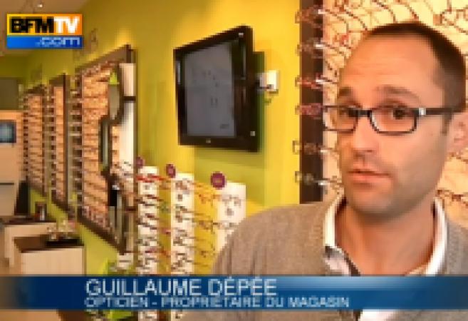 Les opticiens « victimes des braqueurs » sur BFM TV