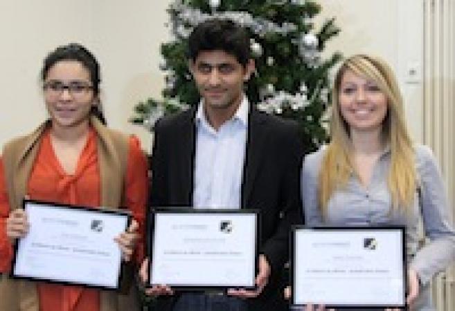 GrandVision récompense et accompagne trois élèves de l'ICO au travers de bourses au mérite