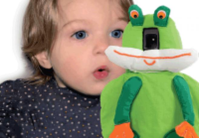 Rétino Puppet fait des examens de vue un jeu d'enfant