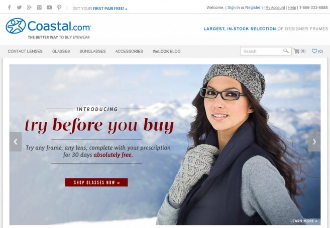 Essilor fait l'acquisition du site e-optique Coastal.com