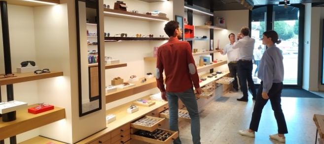 Optique et audioprothèse sont réunis dans ce concept store unique en son genre