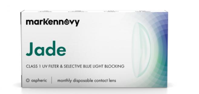 Mark'ennovy lance une nouvelle lentille mensuelle contre la lumière bleue nocive
