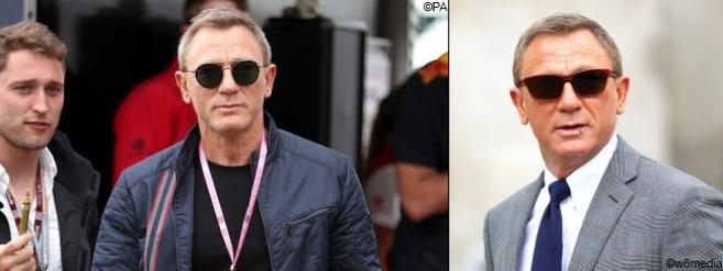 L'agent 007 avec le modèle Legend 06 de Vuarnet (©w8media / ©PA)