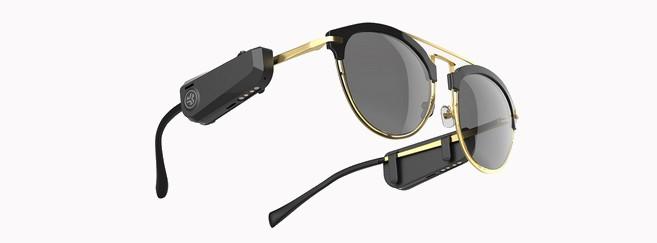 Des écouteurs Bluetooh à clipser directement sur les branches de ses lunettes