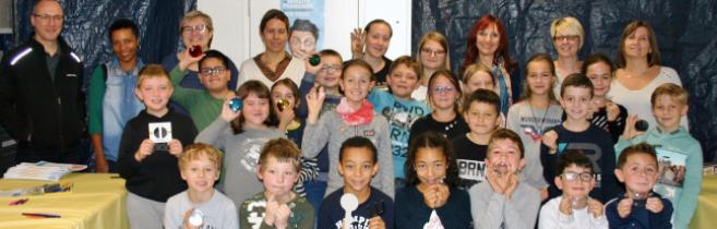 Les élèves de CE2, CM1 et CM2 de l'école de Goetzenbruck ont été accueillis chez Mont-Royal