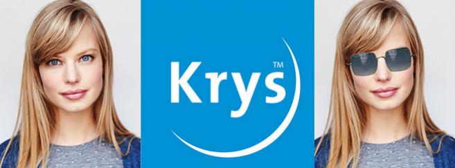Krys se met à l'essayage virtuel pour la vente de solaires
