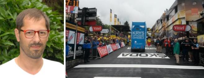 Krys, opticiens officiels du Tour de France : l'étape avec Jean Mallavergne et ses collaborateurs