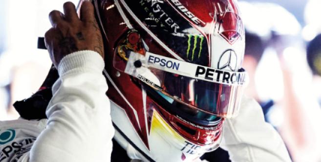 Lewis Hamilton et Police vont créer une collection