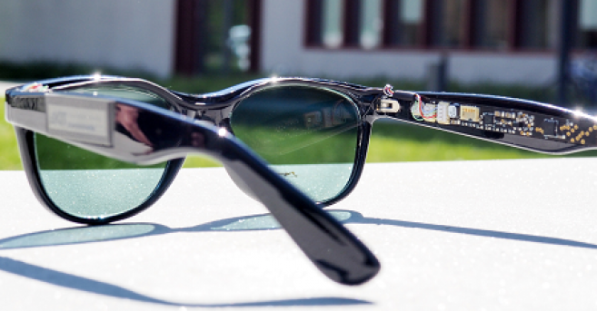 Des lunettes pour produire de l'électricité