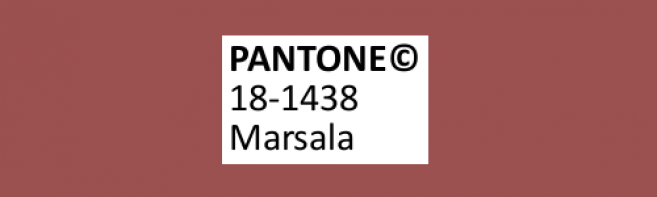 Tendance couleur 2015 : le rouge Marsala à l'honneur !