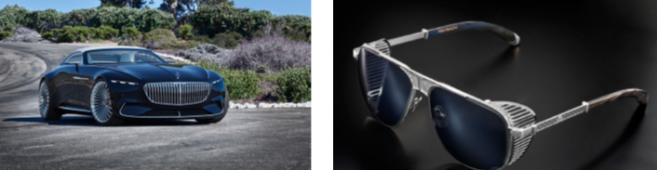 Deux solaires en série limitée pour la sortie de la Vision Mercedes-Maybach Cabriolet 6