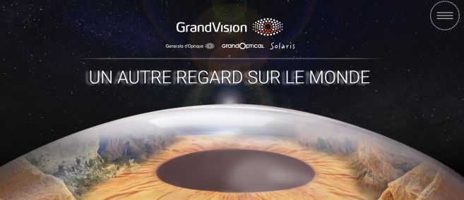 GrandVision France : une nouvelle image et un 1er site corporate