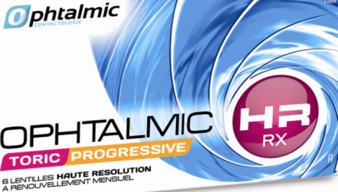 Ophtalmic HR RX Toric Progressive : une nouvelle lentille destinée aux presbytes astigmates