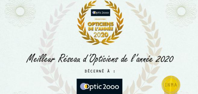 Découvrez le meilleur réseau d'opticiens de l'année 2020 selon les consommateurs