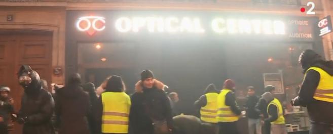 Dégradations à Paris : un magasin d'optique « totalement vandalisé »