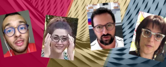 A vous de voter ! Découvrez les vidéos des opticiens animateurs d'Acuité au Silmo 2018