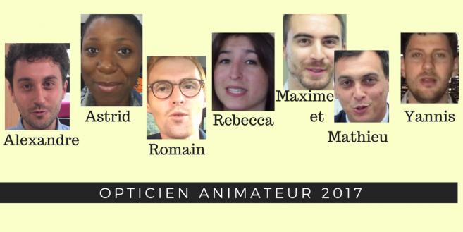 A vous de voter ! Découvrez les vidéos des opticiens animateurs d'Acuité au Silmo 2017