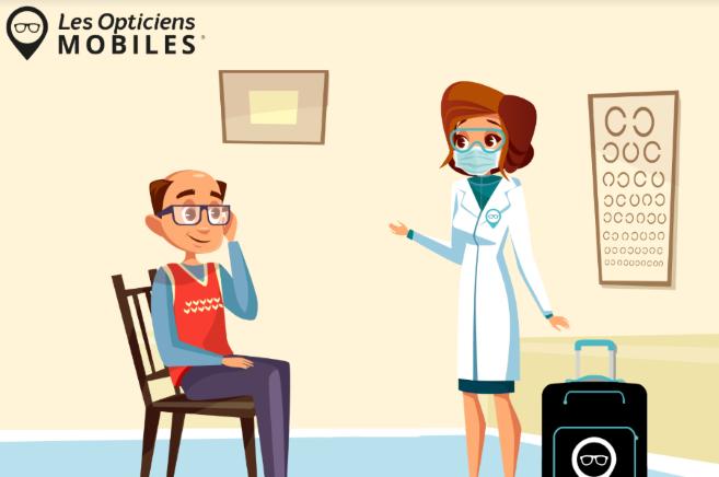 Reprise de l'activité : intervention des Opticiens Mobiles en 5 étapes