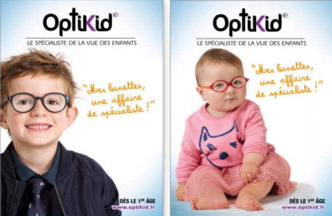 Optikid : une nouvelle campagne pour le spécialiste de l'enfant et un nouveau site internet