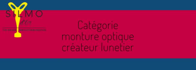 Silmo d'Or 2019 : les 5 nominés de la catégorie « Monture optique créateur lunetier »