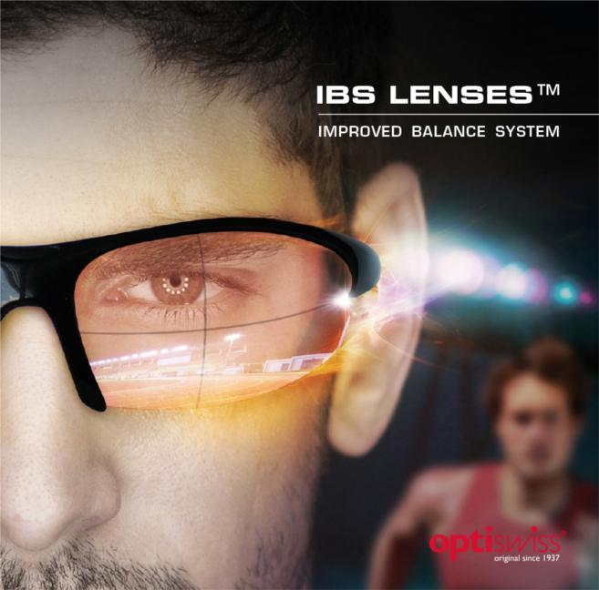 1ère mondiale pour les verres IBS Lenses d'Optiswiss au Silmo 2014
