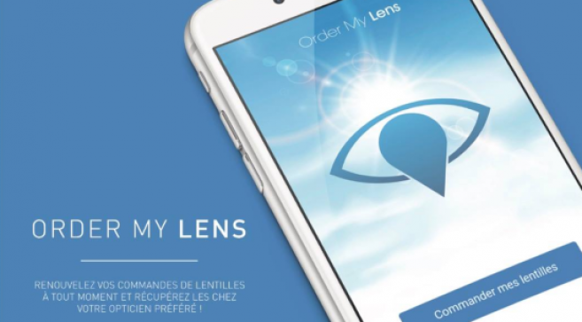 Un opticien lance une application smartphone pour simplifier la commande de lentilles de contact