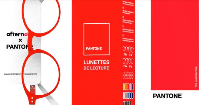 Afternoon Eyewear X Pantone : une collaboration optique et solaire colorée