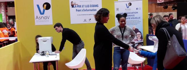 Paris Games Week : L'Asnav sensibilise les visiteurs sur la problématique des écrans