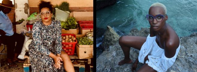 L'essence de la culture Bajan dans les lunettes Peoples from Barbados. À gauche, Alicia Hartman, fondatrice de la marque