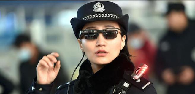 Des lunettes pour reconnaître et arrêter des criminels