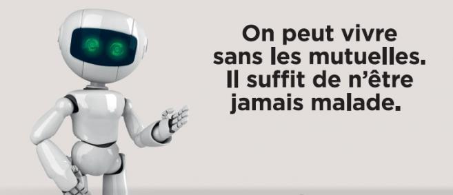 Publicité récente de la Mutualité Française